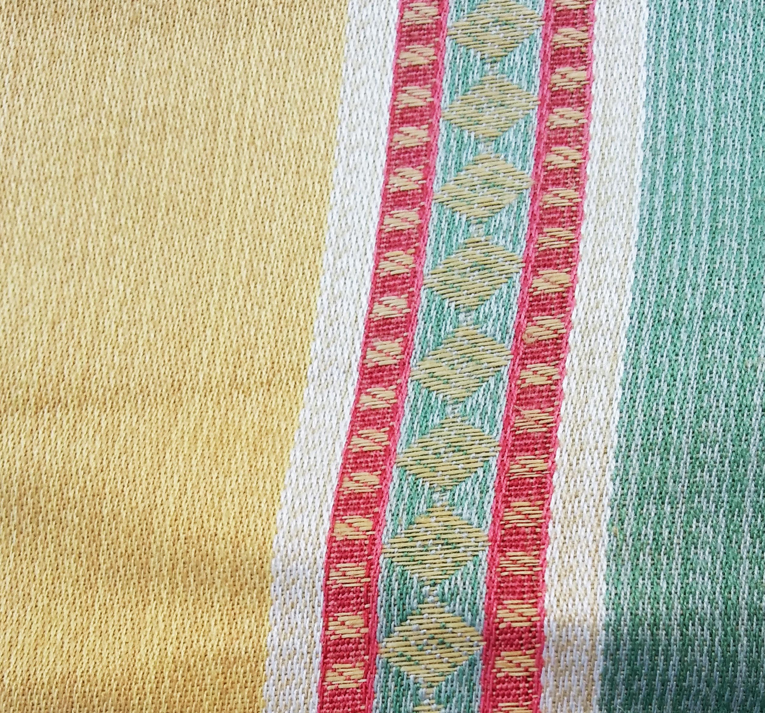 tessuto in cotone a righe