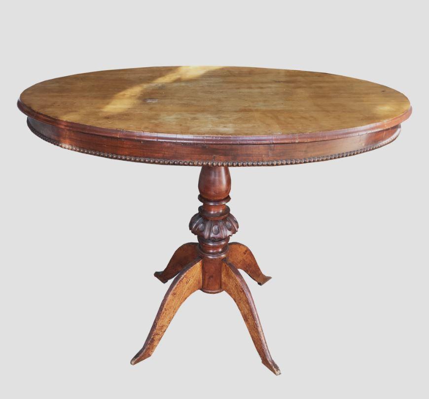 Tavolo Antiquariato antico in legno massello interno classico decorativo da m-group